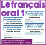 French Oral Practice-Une pratique orale: Ensemble 1 le français de base