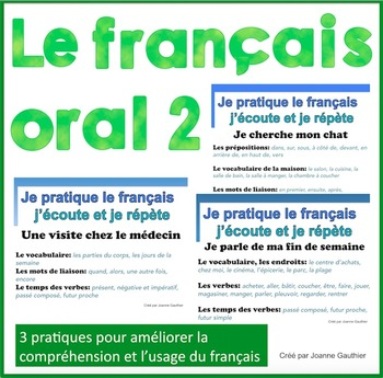 French Oral Practice-Une pratique orale: Ensemble 2 le fra