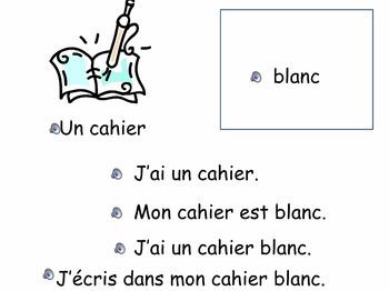 French Oral Practice-Une pratique orale: la famille et les couleurs