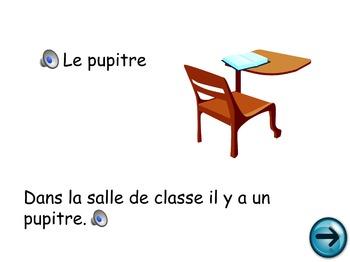 French Oral Practice-Une pratique orale: la salle de classe