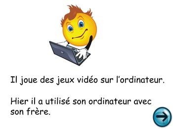 French Oral Practice-Une pratique orale: le présent et le passé composé
