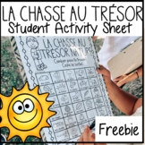 French Outdoor Scavenger Hunt FREEBIE ~ Distance Learning