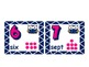 French Owl Themed Number Cards 1- 10 :
