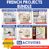 French PROJECTS Bundle: French Project Based Learning (20%)