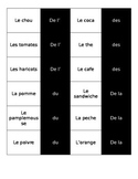 French Partitive Dominos Game