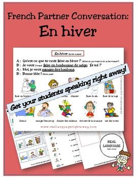 French Partner Conversation - En Hiver