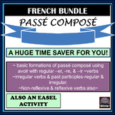 French - Passé Composé: Worksheets and Test pack