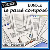 French Passé Composé BUNDLE: Worksheets & Tests/Quizzes