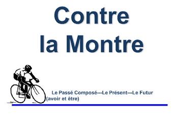 French Passé Composé (Avoir and Être) Writing Activity, Powerpoint