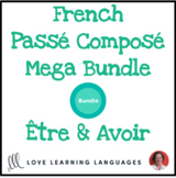 French passé composé games, speaking activities, and exerc