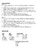 French Passé Composé Writing Activities, avoir + être verbs (6 Versions)