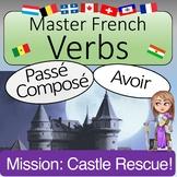 French Passé Composé with Avoir Verbs: MISSION CASTLE RESCUE!