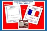 French Passport HALL PASS