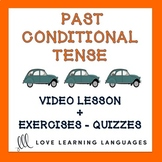 French Past Conditional Lesson and Exercises - Le Conditio