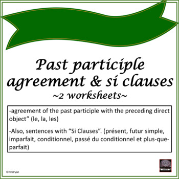 past participle of rencontre
