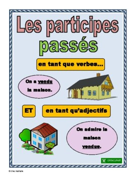 French Past Participles (verbs + adjectives)