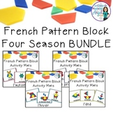 French Four Season Pattern Block Pictures BUNDLE