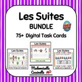 French Patterning BOOM cards - 3 games! / Les Suites / Les Régularités