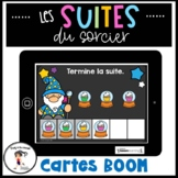 French Patterns | Suites/Régularités BOOM CARDS Distance Learning