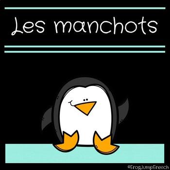 French Penguins Non-Fiction Unit // Les manchots