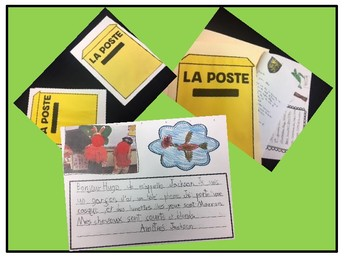 French - Pen pals Project Research and Activities