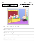 "French ""Peppa Pig"" questions to go with videos available online"