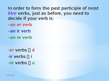French Perfect Tense - Etre Verbs - A Complete Guide.
