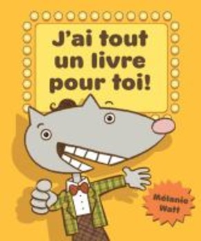 French - Persuasive Writing Poster - with Mélanie Watt's Hilarious Book
