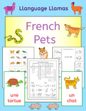 French Pets Fun Activities, Puzzles and Bingo