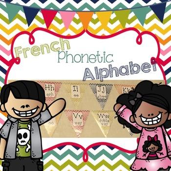 French Phonetic Alphabet Banner