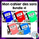 French Phonics Activities Bundle #1:  Mon cahier des sons