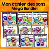 French Phonics Activities: Mon cahier des sons MEGA BUNDLE