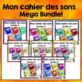 French Phonics Activities: Mon cahier des sons MEGA BUNDLE