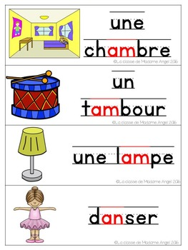 French Phonics Activities: Mon cahier des sons {an} et {am}