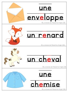 French Phonics Activities: Mon cahier des sons {e}