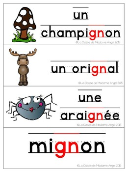 French Phonics Activities: Mon cahier des sons {gn}