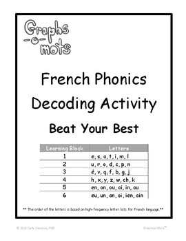 French Phonics - Beat Your Best
