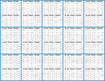 French Phonics Bingo: Set 1 / Le Bingo des sons: Ensemble 1