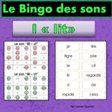 French Phonics Bingo: Short Ii/Le Bingo des sons: voyelle simple Ii