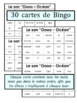 French Phonics Bingo: Short Oo/Le Bingo des sons: voyelle simple Oo
