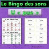 French Phonics Bingo: Short Uu/Le Bingo des sons: voyelle simple Uu