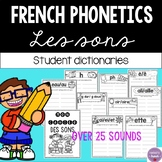 French Phonetic Blends Student Dictionary (Les sons)