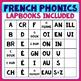 French PHONICS Lapbooks Growing Bundle