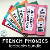 French PHONICS Lapbooks Bundle | La conscience phonologique