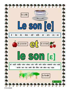 French Phonics: Les sons [e] et [ɛ]
