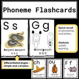 French Phonics Program - Sound Flashcards