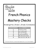 Graphs-o-Mots: French Phonics Intervention - Learning Bloc