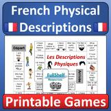French Physical Descriptions Games (Les Descriptions Physiques)