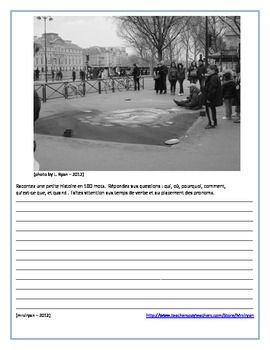 French - Picture Writings of Paris, France