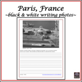 French - Picture Writings – package #2 of Paris, France